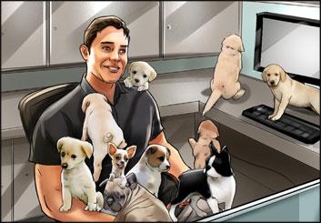 James Randolph*'s Wildlife / Animals storyboard art