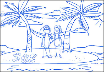 James Randolph*'s Characters / Creatures storyboard art