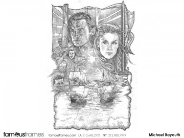 Michael Bayouth*'s Key Art / Posters storyboard art