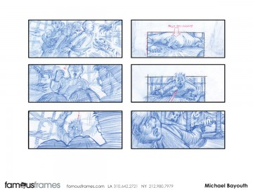 Michael Bayouth*'s Film/TV storyboard art