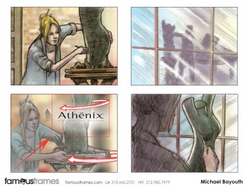 Michael Bayouth*'s People - Color  storyboard art