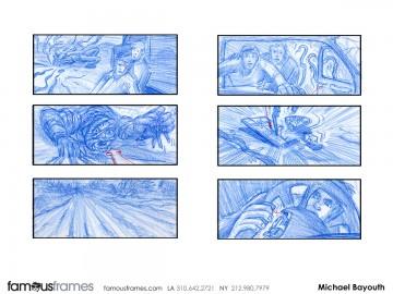Michael Bayouth*'s Shootingboards storyboard art