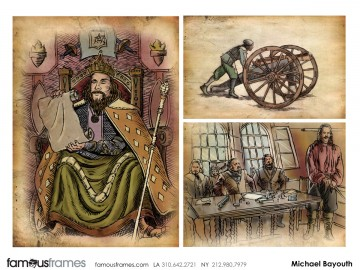 Michael Bayouth*'s Illustration storyboard art