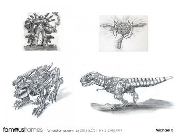 Michael Bayouth*'s Characters / Creatures storyboard art