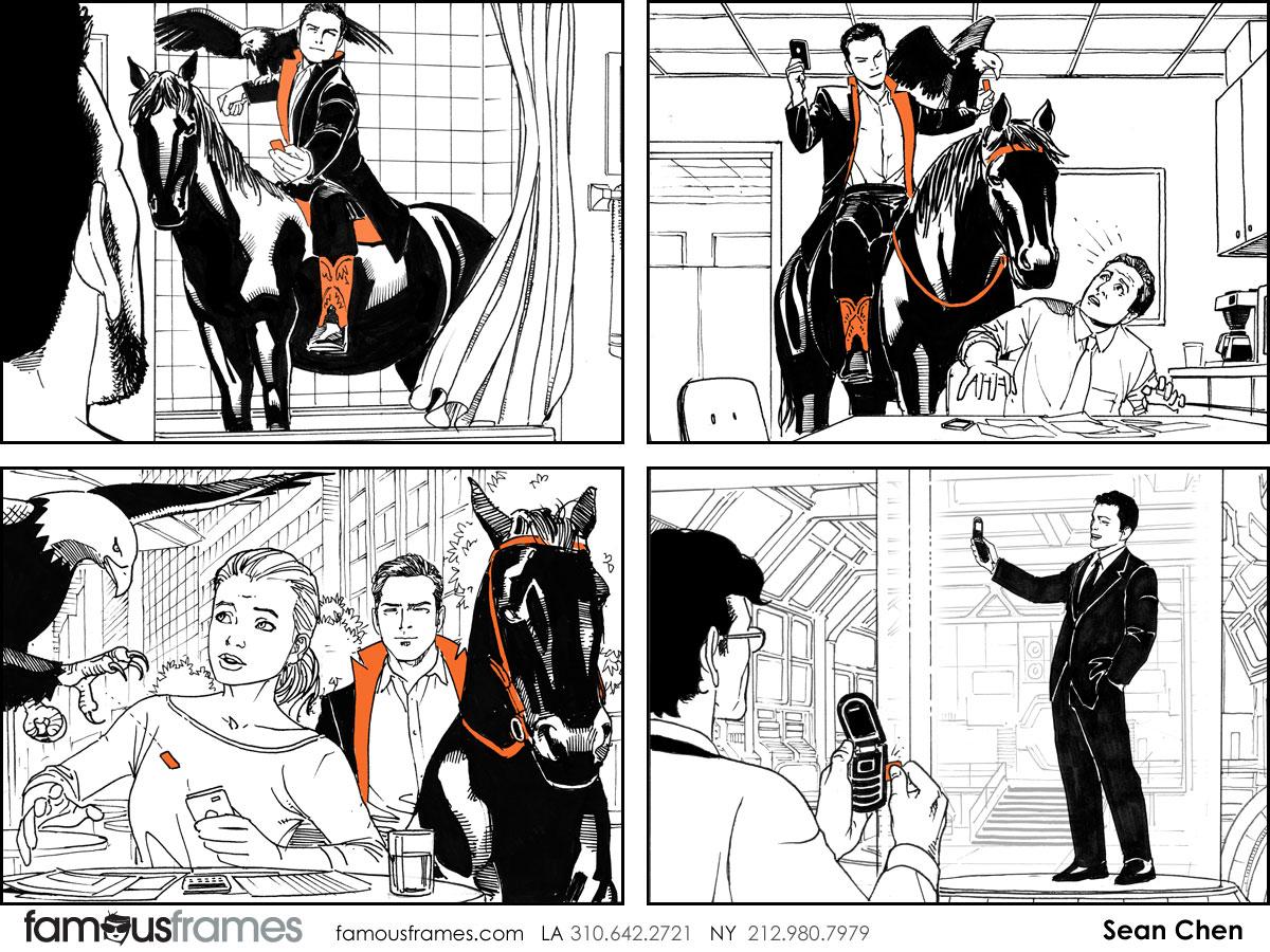 Sean Chen's People - B&W Line storyboard art (Image #216_114_1398294951)