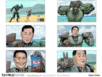 Sean Chen's Likenesses storyboard art