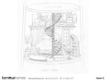 Sean Chen's Architectural storyboard art