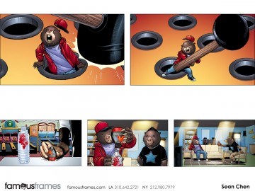 Sean Chen's Characters / Creatures storyboard art