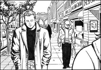 Sean Chen's People - B&W Tone storyboard art