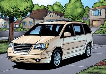 Sean Chen's Vehicles storyboard art