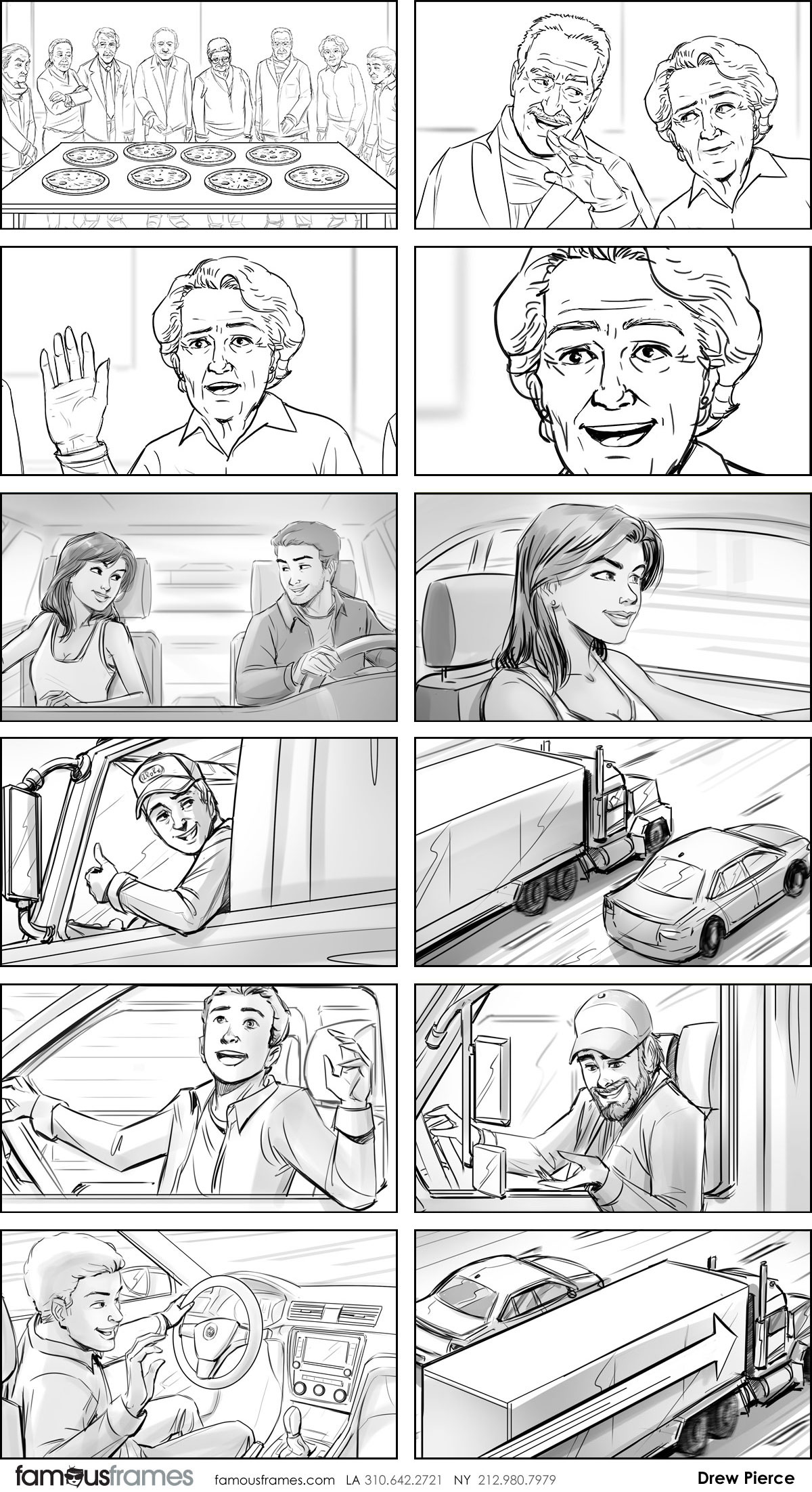 Drew Pierce's People - B&W Line storyboard art (Image #218_114_1549053926)