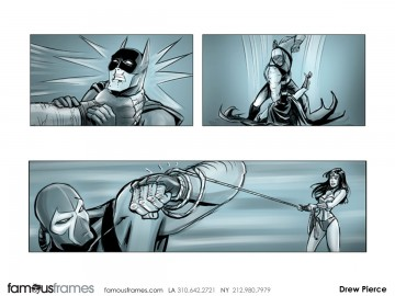 Drew Pierce's Shooting Animation  storyboard art