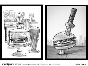 Drew Pierce's Food storyboard art