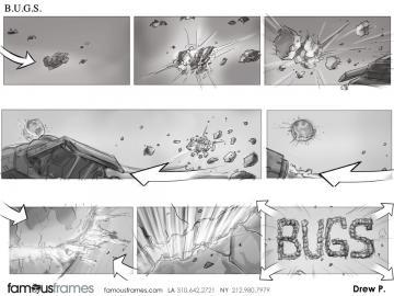 Drew Pierce's Film/TV storyboard art