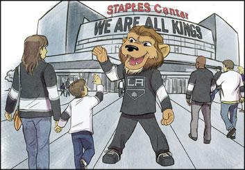 Drew Pierce's Sports storyboard art