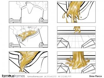 Drew Pierce's Liquids storyboard art