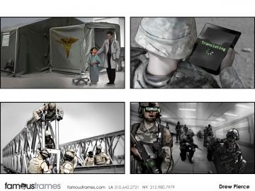 Drew Pierce's Photo Frames storyboard art