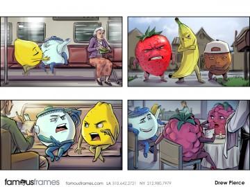 Drew Pierce's Characters / Creatures storyboard art