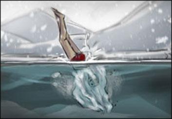 Drew Pierce's Shootingboards storyboard art