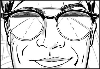 Steve Wolf's People - B&W Line storyboard art