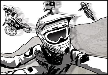 Steve Wolf's Sports storyboard art