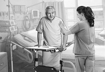 Nick Randall's Pharma / Medical storyboard art