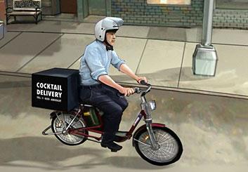 Nick Randall's Vehicles storyboard art