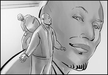 Lee Milby's People - B&W Tone storyboard art