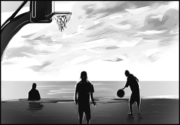 Lee Milby's Sports storyboard art