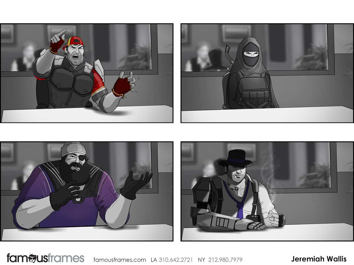 Jeremiah Wallis's Characters / Creatures storyboard art (Image #223_8_1426872216)