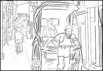 Jeremiah Wallis's Shootingboards storyboard art