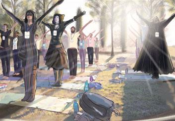Jeremiah Wallis's People - Color  storyboard art