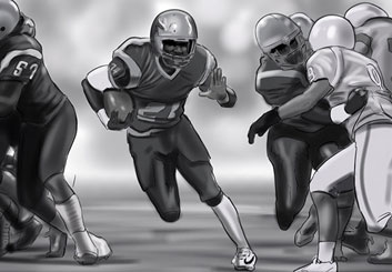 Jeremiah Wallis's Sports storyboard art