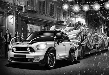 Jeremiah Wallis's Vehicles storyboard art