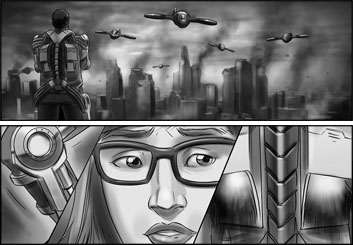 Lidat Truong*'s Action storyboard art