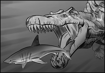 Lidat Truong*'s Characters / Creatures storyboard art