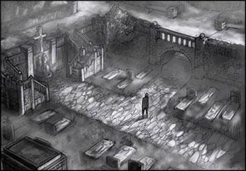 Lidat Truong's Environments storyboard art