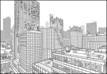 Lidat Truong*'s Environments storyboard art