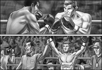 Lidat Truong's Sports storyboard art
