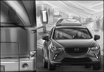 Lidat Truong's Vehicles storyboard art