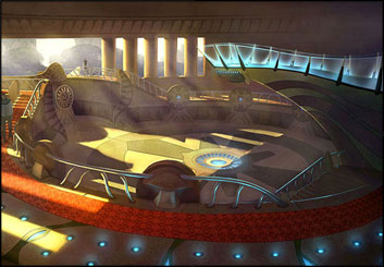 Lidat Truong's Set Rendering  storyboard art