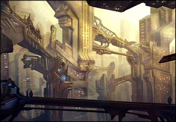 Lidat Truong*'s Concept Environments storyboard art