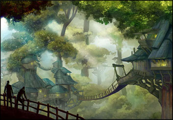 Lidat Truong's Concept Environments storyboard art
