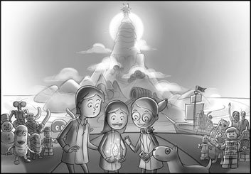 Lidat Truong's Animation storyboard art