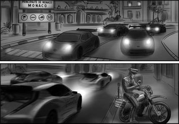 Lidat Truong*'s Shootingboards storyboard art
