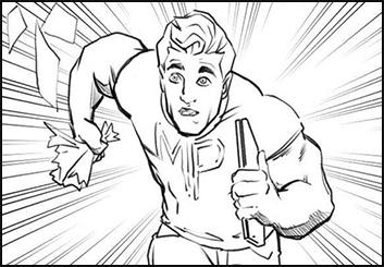 Josh Adams's Comic Book storyboard art