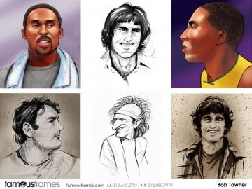 Bob Towner's Likenesses storyboard art