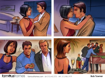 Bob Towner's People - Color  storyboard art