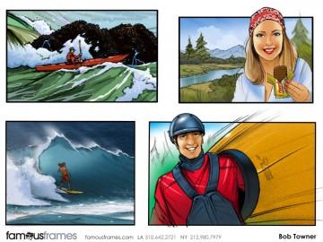 Bob Towner's People - Color  storyboard art