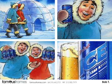 Bob Towner's Products storyboard art